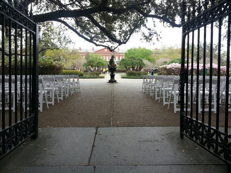 White Chairs at Jax Square
