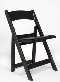 Where to find Black Padded Resin Folding Chair in New Orleans