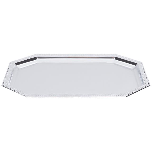 Where to find Silver 20 x14  Octagon Serving Tray in New Orleans