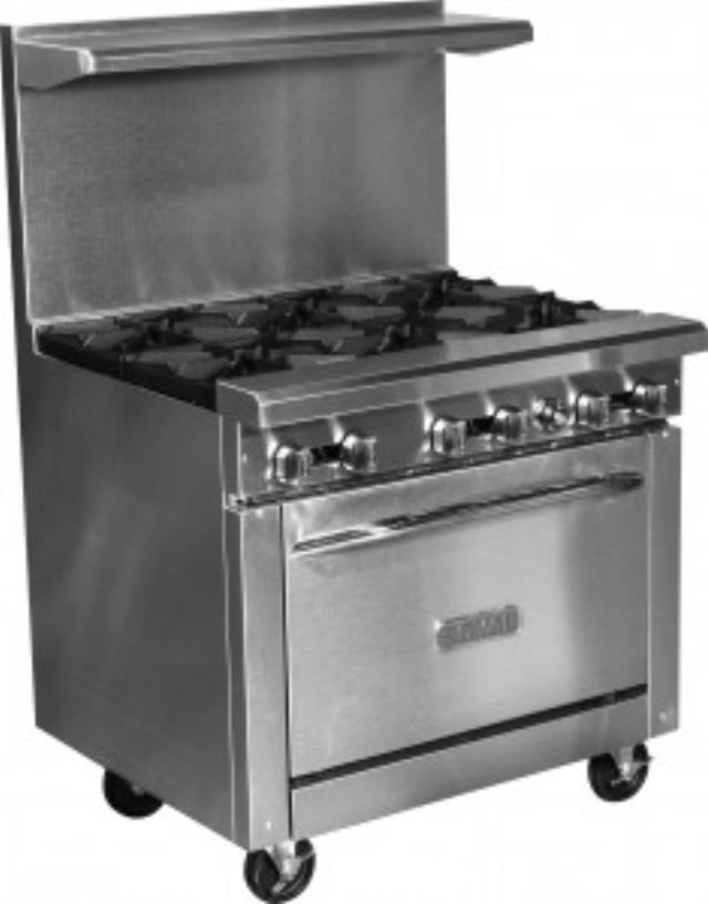 Where to find Royal 6 Burner Range Oven in New Orleans