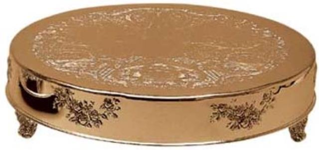Where to find Cake Stand Round 22 - Roman Gold in New Orleans