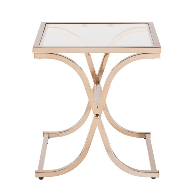 Where to find Champagne Brass End Table in New Orleans