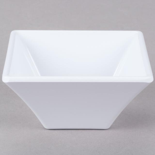 Where to find White Square Bowl-Melamine 8oz in New Orleans