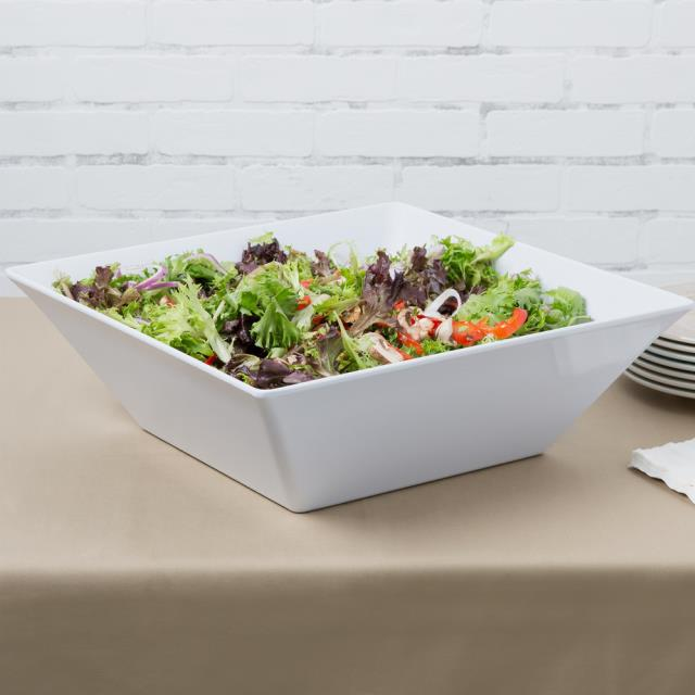 Where to find Large SquareSalad Bowl- Melamine 20.4qt in New Orleans