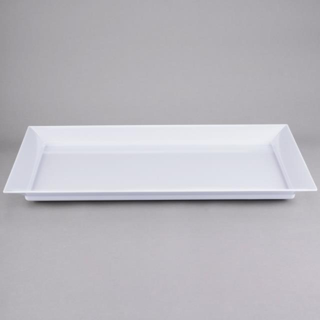Where to find White Melamine Serving Tray 16 x28 in New Orleans