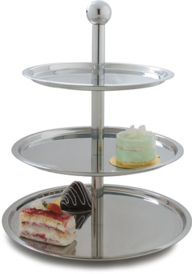 Where to find 3 Tier Display Stainless Stand 20 in New Orleans