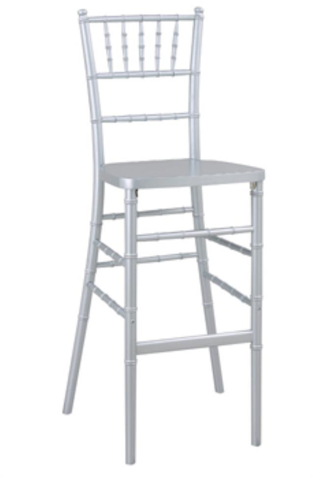 Where to find Stool Chiavari- Silver in New Orleans