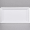 Rental store for White Melamine Serving Tray 14.25x7.5 in New Orleans LA