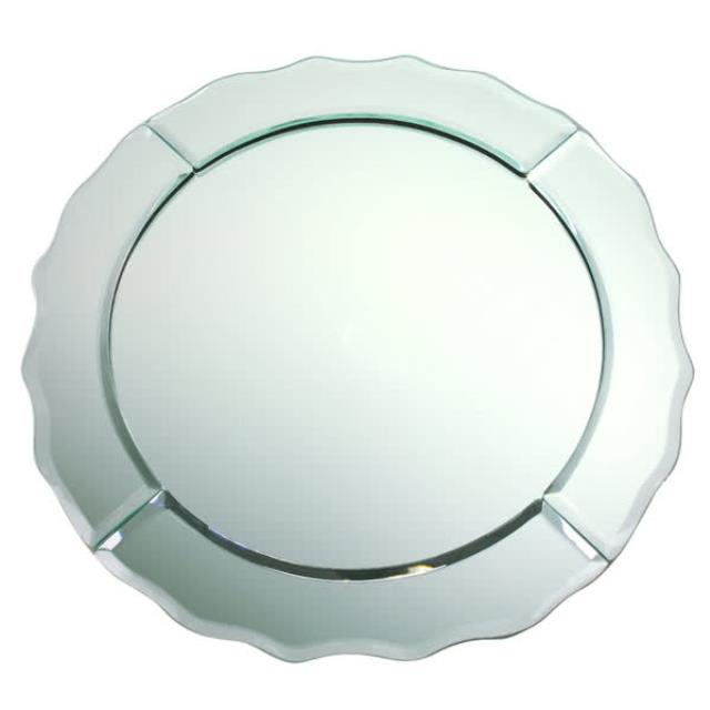 Where to find Mirror Scalloped Edge Glass Charger 13 in New Orleans