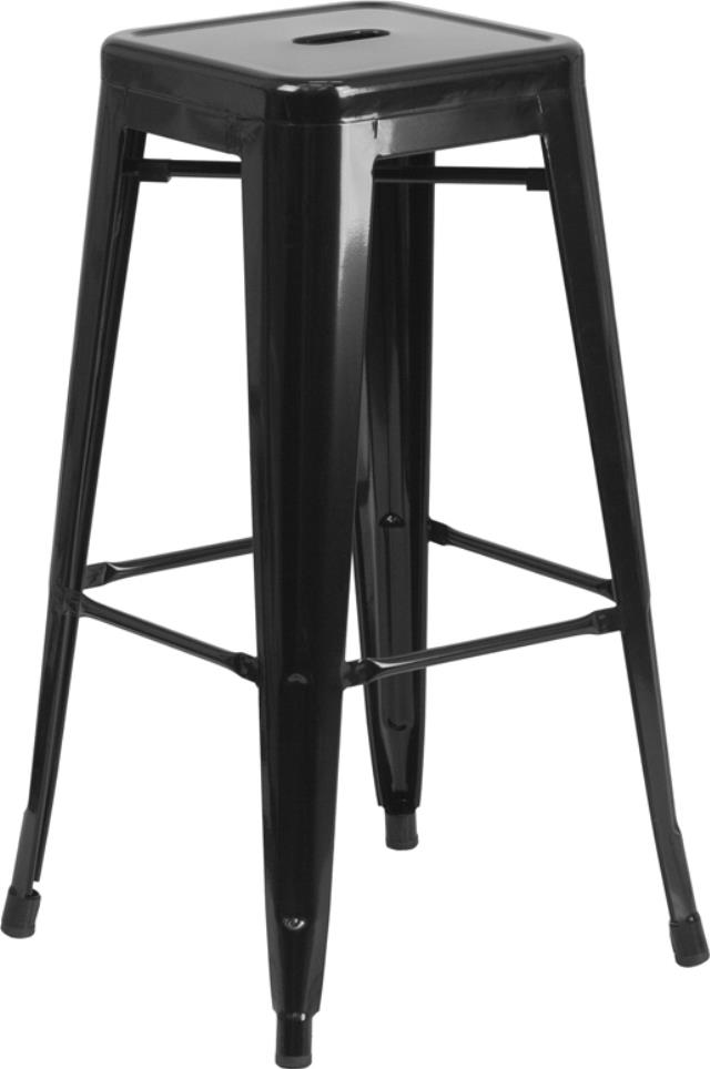 Where to find Black Metal Barstool 30 H in New Orleans
