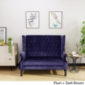 Rental store for Velvet Purple Loveseat in New Orleans LA