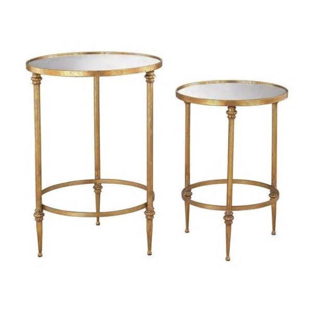 Where to find Pair of Gold   Mirror Accent Tables in New Orleans