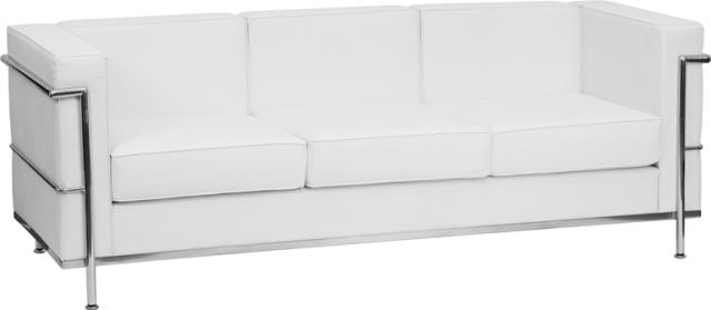 Where to find White Regal Lounge Sofa in New Orleans