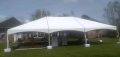 Rental store for 30x45 White Frame Keeder Tent Cant Val in New Orleans LA