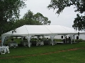 Rental store for 30x60 White Frame Keeder Tent Scallop in New Orleans LA