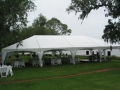 Rental store for 30x75 White Frame Keeder Tent Scallop in New Orleans LA