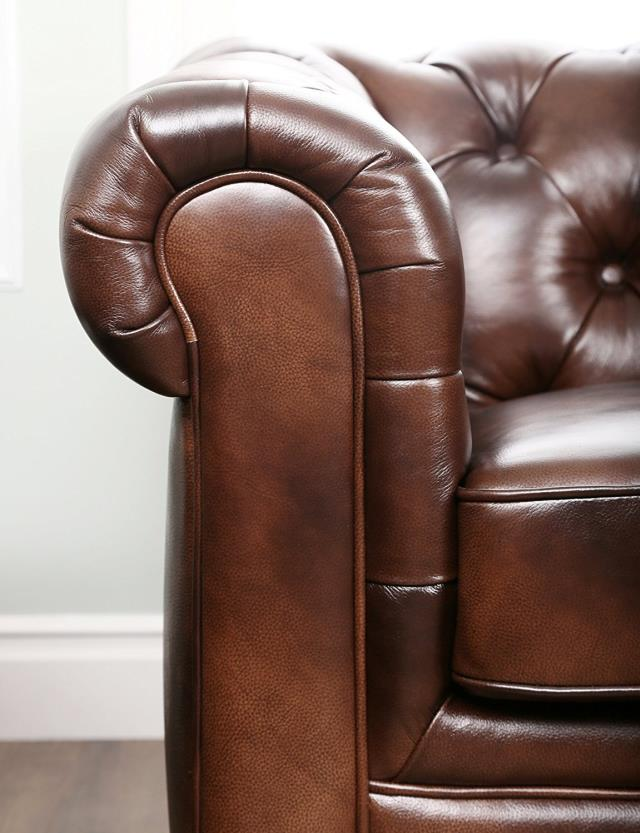 Image For Reference Only Actual Item May Look Diffe Click On Larger View Where To Find Brown Leather Tufted Sofa